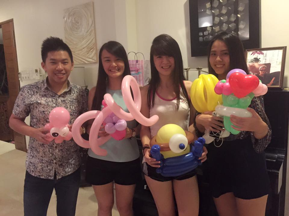 singapore balloon sculptures