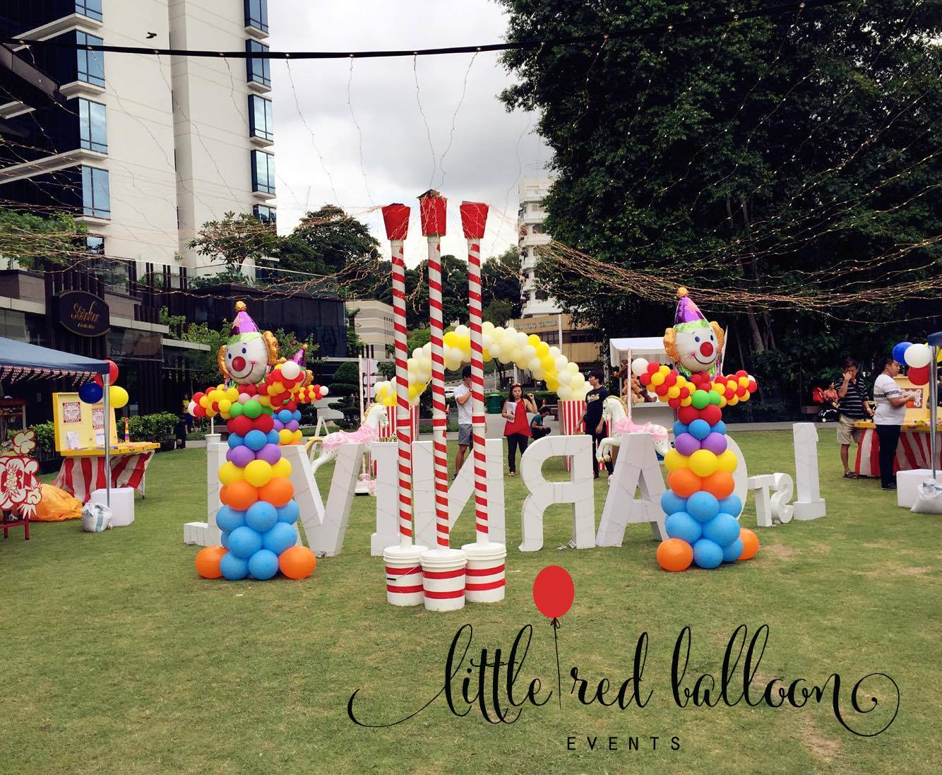 singapore balloon decorations
