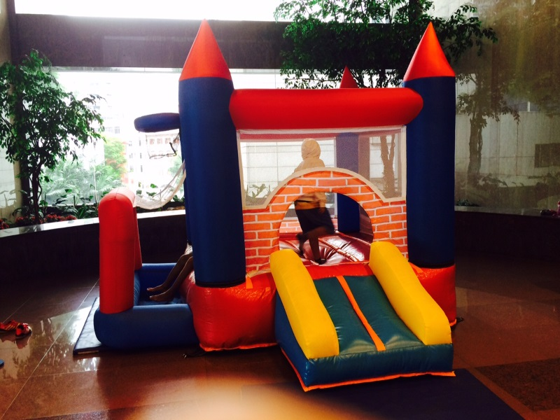 $238 - Dimension: 3m x 3m x 2.5m (H) - Up to 6 Children - Rates for 4 hours session