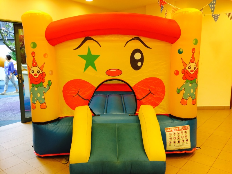 $198 - Dimension: 3m x 2.5m x 2m (H) - Up to 4 Children - Rates for 4 hours session -