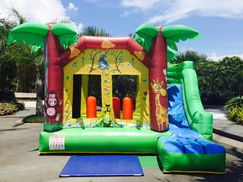 $358 - Dimension: 4m x 3.5m x 3m (H) - Up to 7 Children - Rates for 4 hours session