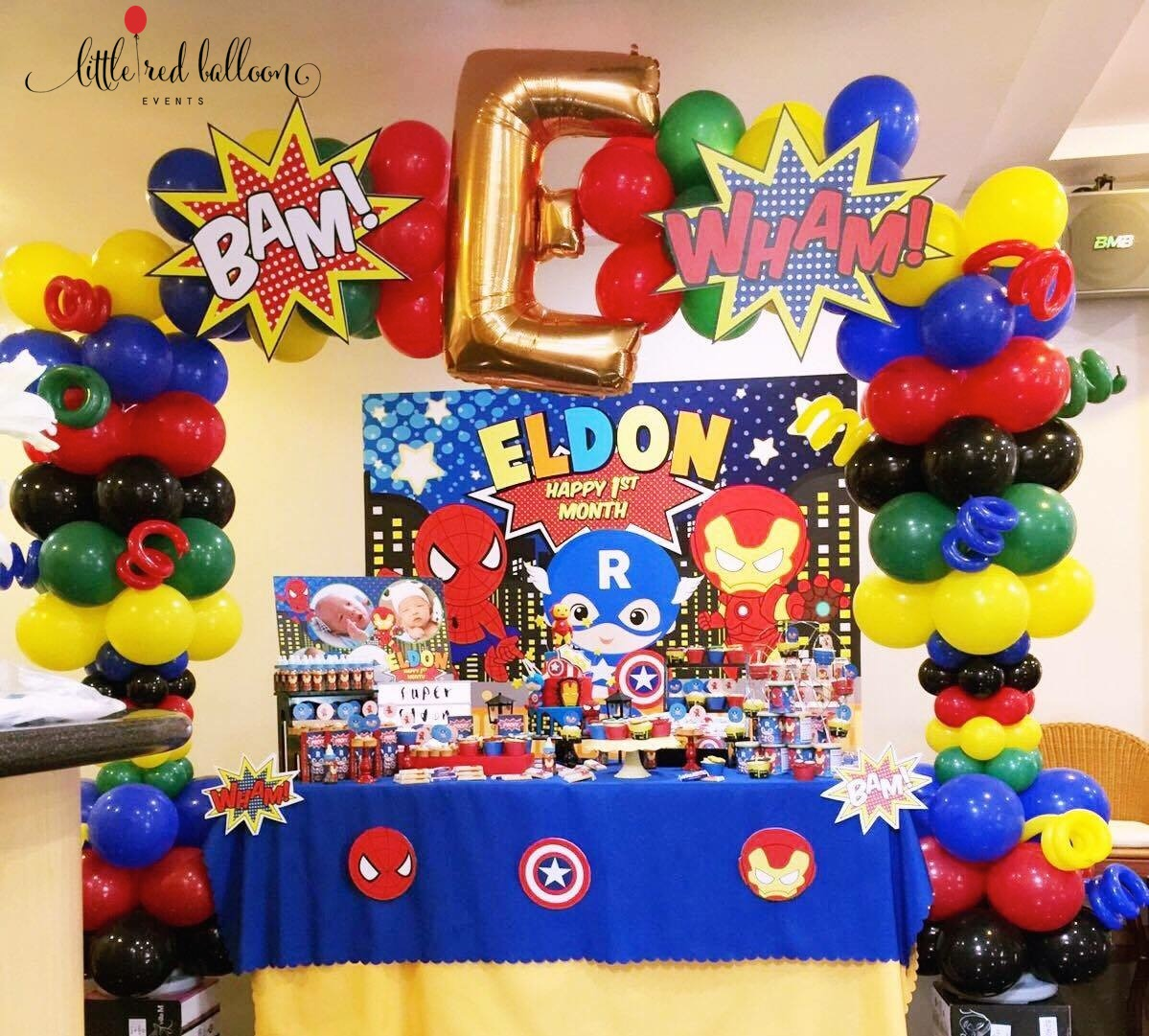 Premium balloon arch in singapore little red balloon for Balloon decoration packages manila