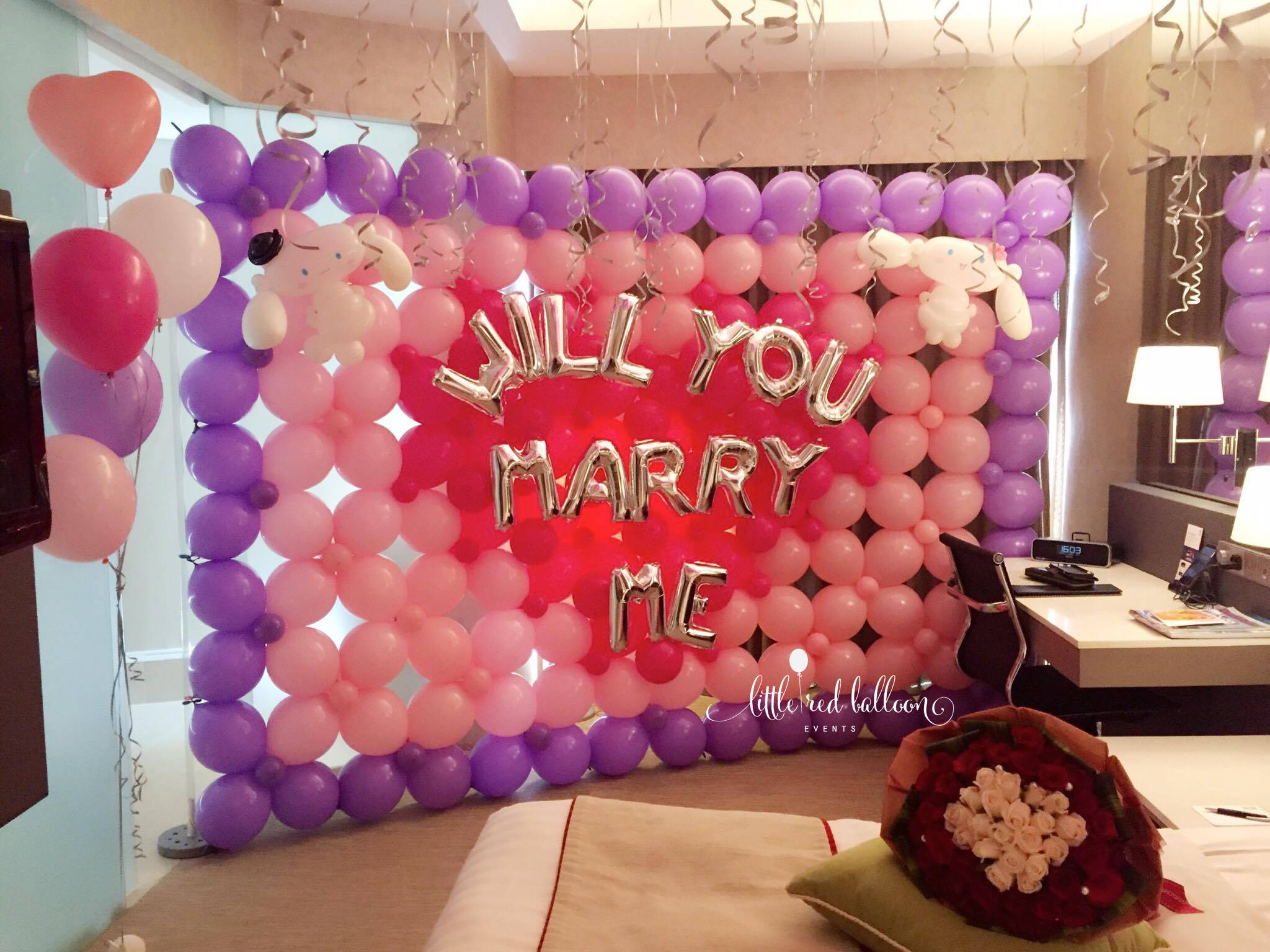 Balloon Backdrops | Little Red Balloon Singapore