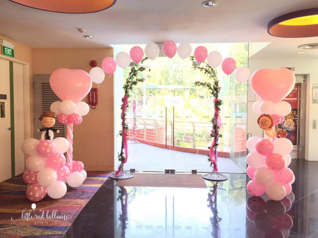 Premium Balloon Arch In Singapore | Little Red Balloon Singapore