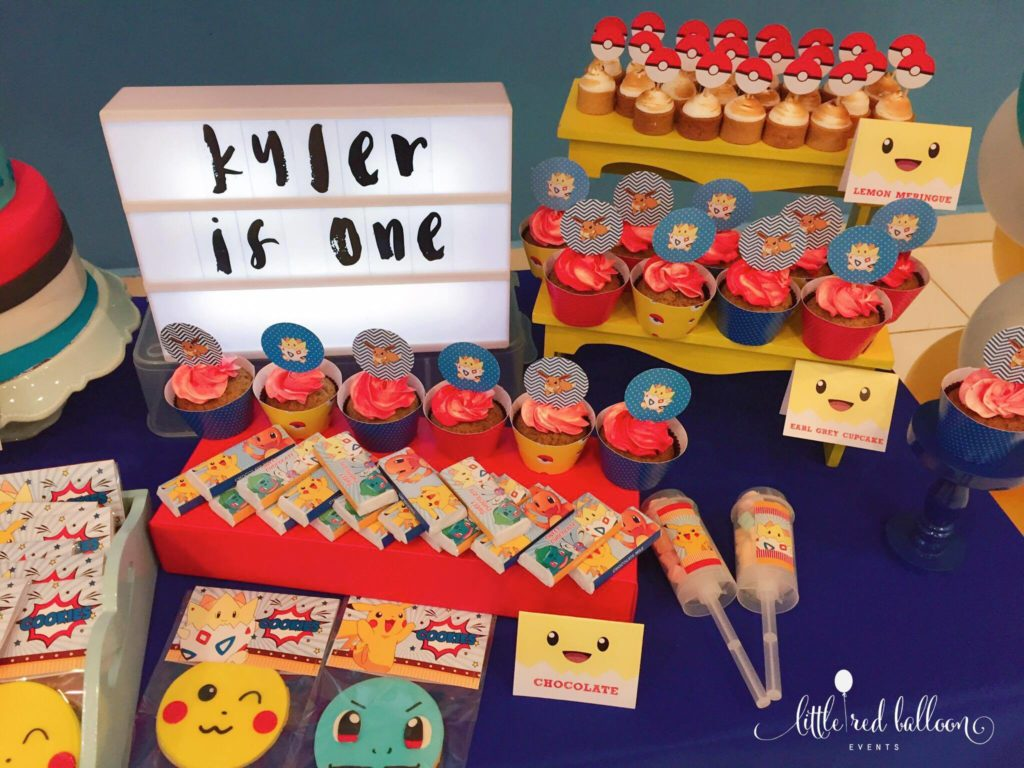 pokemon-dessert-table
