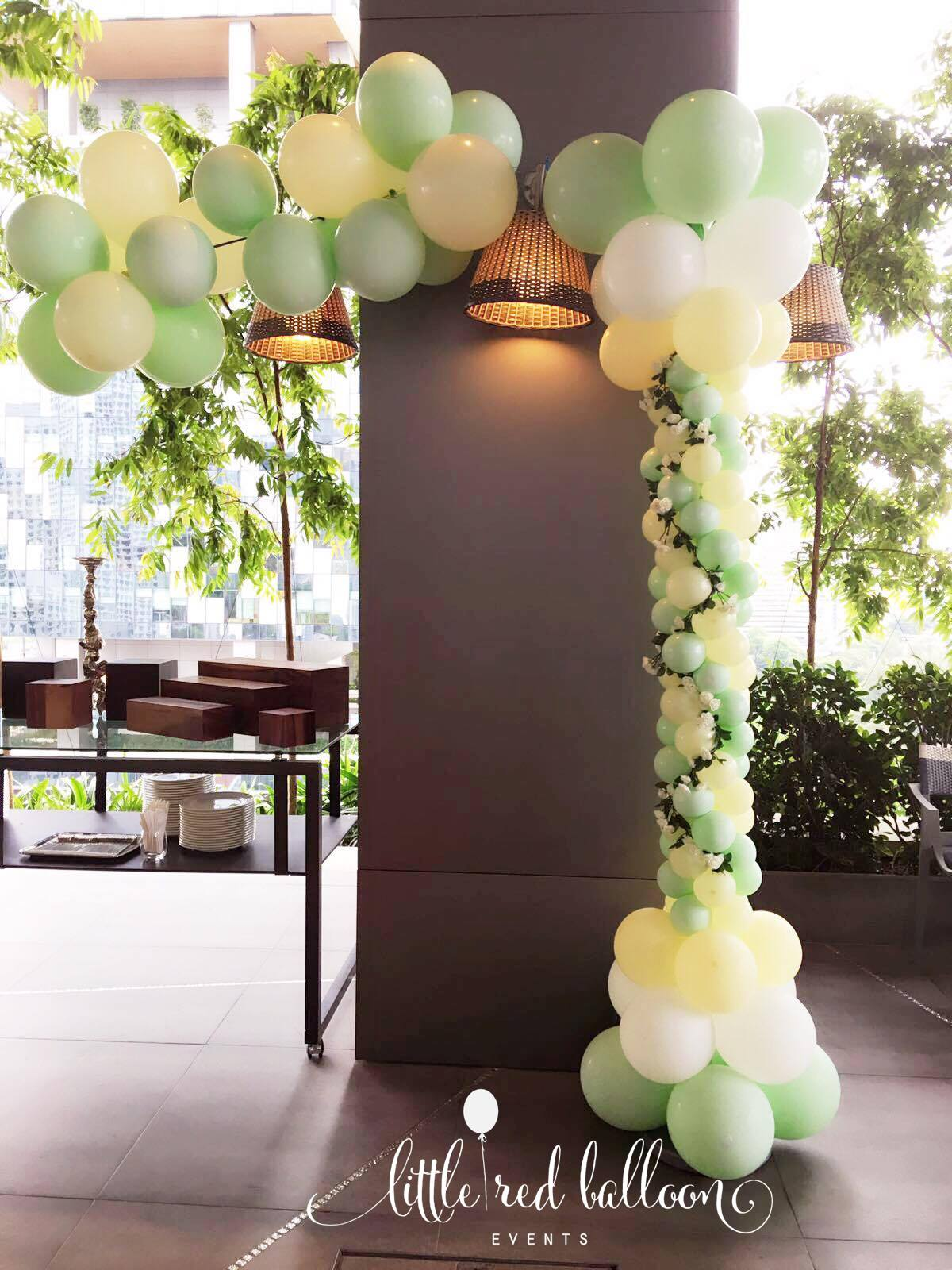 Ada's 1st Birthday Party – Balloon Decorations For ...