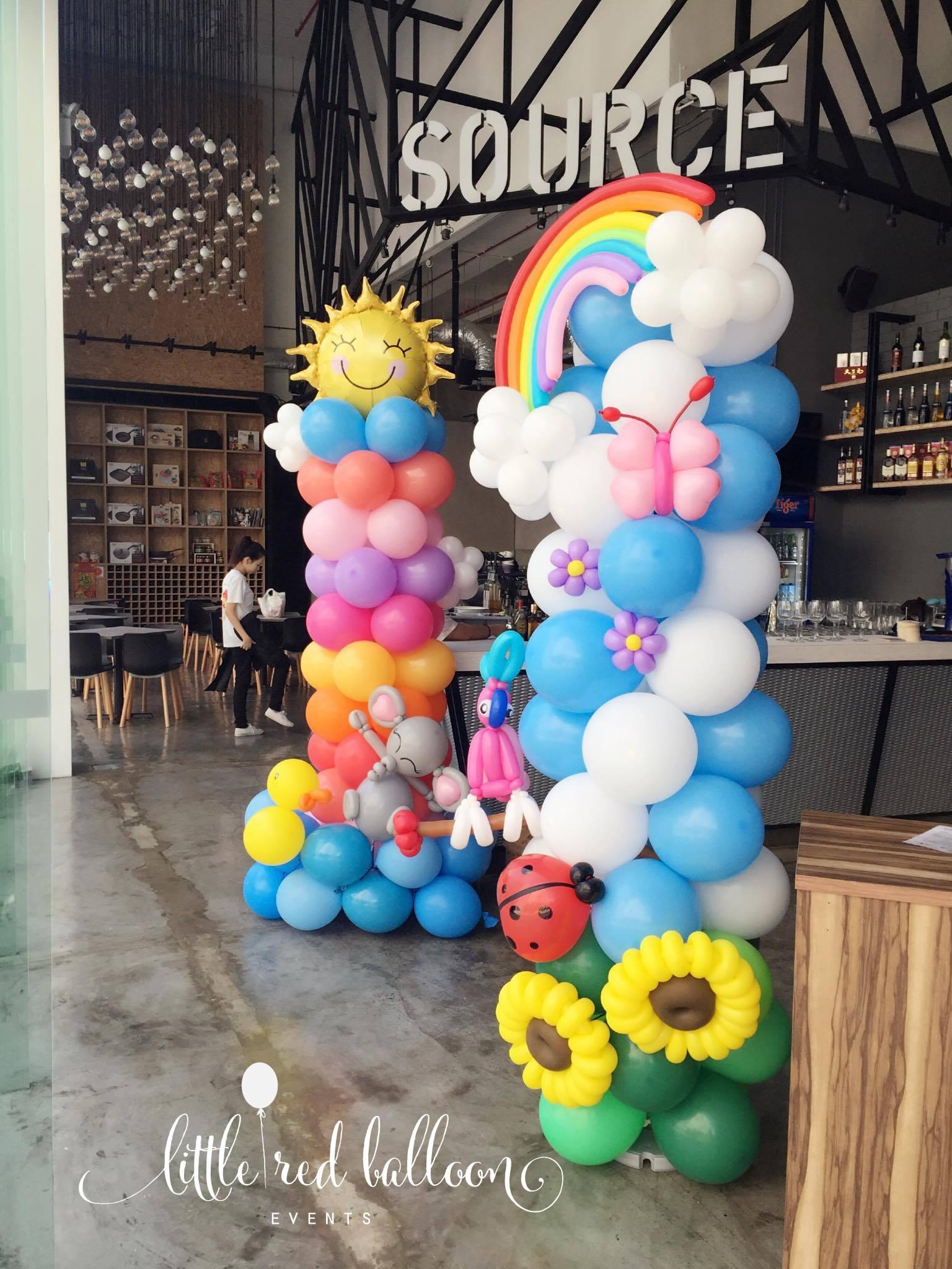 Little Red Balloon – Safari Balloon Decoration