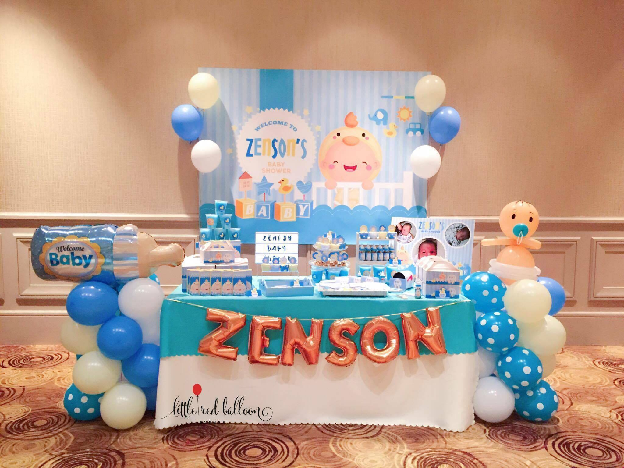 Baby Boy Dessert Table